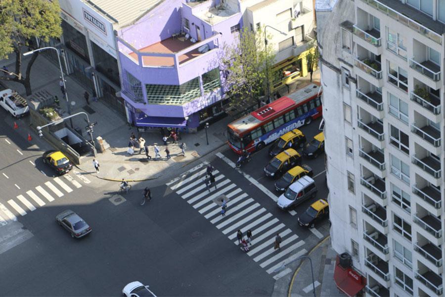 Imagen ilustrativa de las vistas desde el edificio de Desarrollo Social.