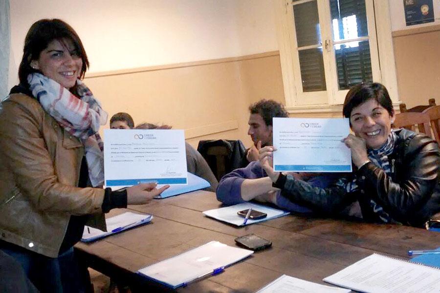 Imagen ilustrativa de las personas que participaron del curso en el CDR.