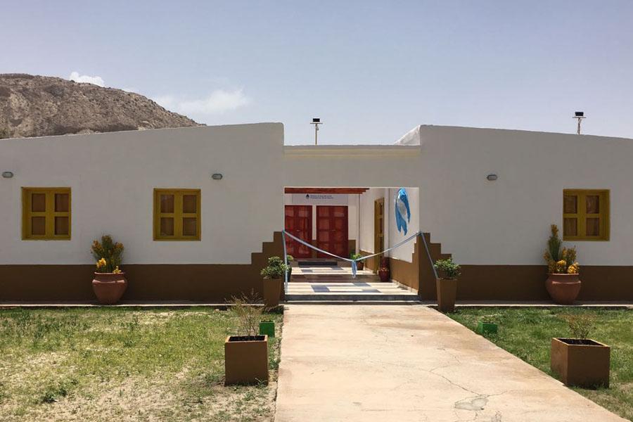 Fotografía ilustrativa del edificio del nuevo CIC de Catamarca.